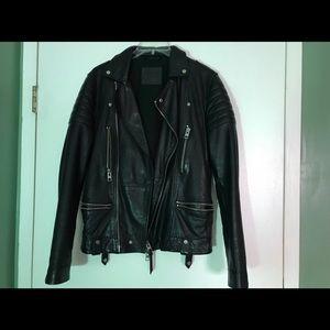 ALLSAINTS  leather jacket XS super chic